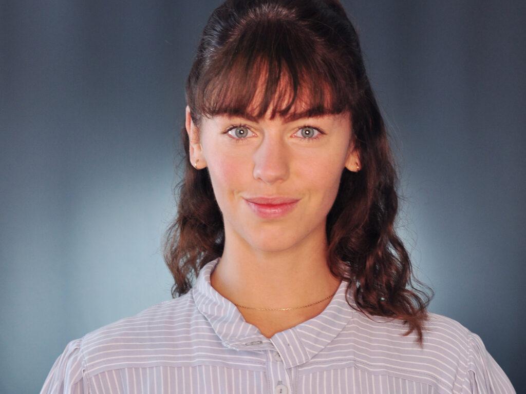 Lisa Steinke ist Ansprechpartnerin für Fragen zu Giving Circles. Foto: Wider Sense GmbH